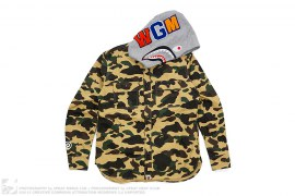 1st Camo WGM Wappen Shark Button-Up by A Bathing Ape