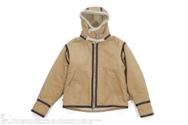 Corduroy Leather Trim Hooded Jacket by A Bathing Ape
