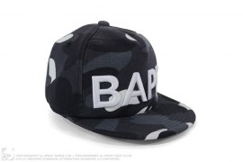 City Camo Bape Logo Snapback by A Bathing Ape