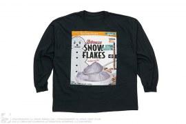 Snow Flakes Longsleeve Tee by Dbruze