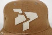 Classic Logo Wool Crushable Soft Brim Strapback, item photo #4