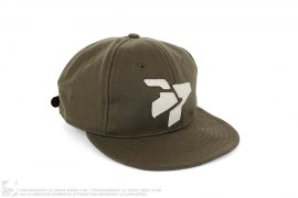 mens strapback Classic Logo Wool Crushable Soft Brim Strapback by 3peat x Ebbets Field