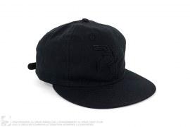 mens strapback Classic Logo Hard Brim Strapback by 3peat x Ebbets Field