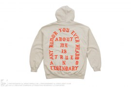 mens pullover Meadows Festival True And Legendary Pullover Hoodie by Kanye West