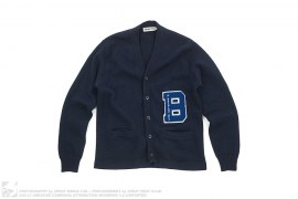 B Wappen Knit Carigan by A Bathing Ape