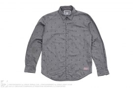 X Monogram Side Pocket Button-Up Shirt by OriginalFake x Neighborhood