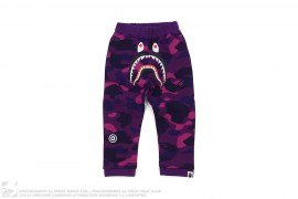 Color Camo Shark Sweatpants by A Bathing Ape
