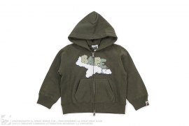 Cloud Bape Airplane Logo Hodie by A Bathing Ape x Kaws