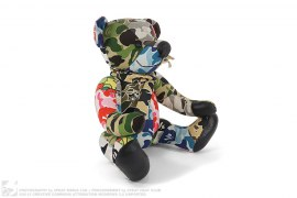 Crazy Camo Bear by A Bathing Ape