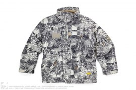 The Fresh Outdoors Print Snowboard Jacket by LRG x Special Blend