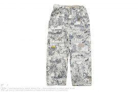 The Fresh Outdoors Print Snowboard Pants by LRG x Special Blend