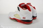 "Air Jordan 5 Retro ""Fire Red"", item photo #2"