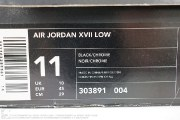 "Air Jordan XVII Low ""Chrome"", item photo #7"