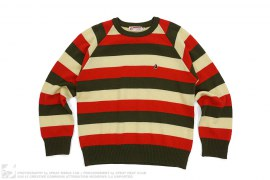 mens sweater Small Apehead Border Sweater by A Bathing Ape