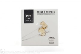 Wooden Earbuds Headphones by LTSN Sound Co.