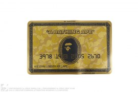 goods Gold Card Mouse Pad by A Bathing Ape