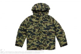 1st Camo Puff Down Snowboard Jacket by A Bathing Ape