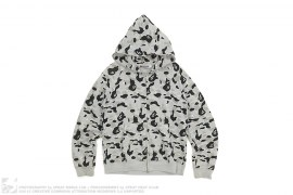 mens hoodie ABC Camo Sta Embroidered Full Zip Hoodie Bapexclusive by A Bathing Ape