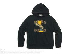 mens pullover Baby Milo Character Pullover Hoodie by A Bathing Ape