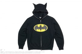 Batman Full Zip Hoodie by A Bathing Ape x DC Comics