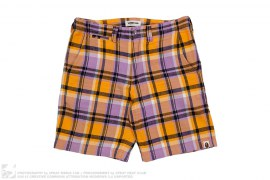 Bape Plaid Shorts by A Bathing Ape