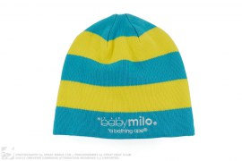Baby Milo Strip Beanie by A Bathing Ape