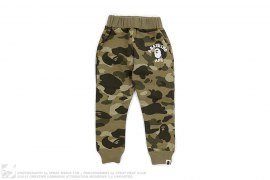 Color Camo College Logo Sweatpants by A Bathing Ape