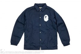 Apehead Logo Coach Jacket by A Bathing Ape