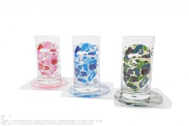 ABC Camo Cup & Coaster Full Set of 3 by A Bathing Ape
