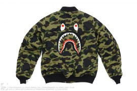 1st Camo Back Shark MA1 Jacket by A Bathing Ape