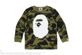 1st Camo Apehead Long Sleeve Tee by A Bathing Ape
