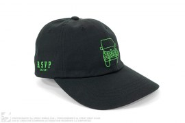 mens hat LA Pop-Up Neon G Wagon Hat by Anti Social Soical Club x RSVP Gallery