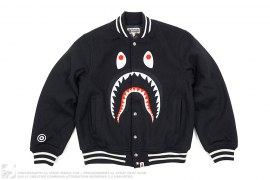 Front Facing Shark Varsity by A Bathing Ape