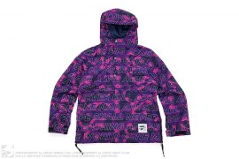 Text Color Camo Pullover Anorak by A Bathing Ape