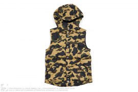 1st Camo Hooded Vest by A Bathing Ape