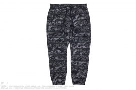 Text Color Camo Track Pants by A Bathing Ape
