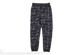 Text Color Camo Sweatpants by A Bathing Ape