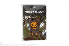 Be@rbrick Milo Keychain by A Bathing Ape x Medicom