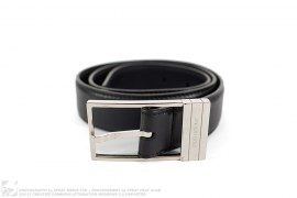 Homme Silver Buckle Belt by Christian Dior