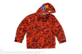 Color Camo Shark Snowboard Jacket by A Bathing Ape