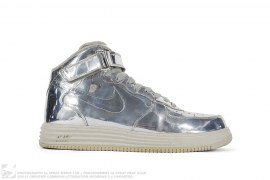 "Air Force 1 High SP ""Liquid Silver"" by Nike"