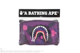 Color Camo Shark Face Mask by A Bathing Ape
