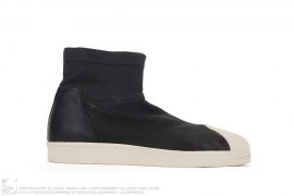 mens shoes Superstar Leather Boots by Adidas x Rick Owens