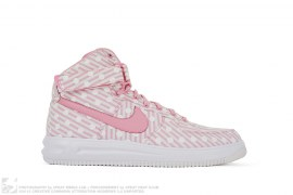 Nike ID Lunar Force 1 High Pinstripe Polka Dot by Nike