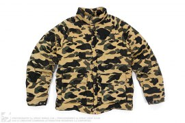 mens jacket 1st Camo Corduroy Puffer Down Jacket by A Bathing Ape