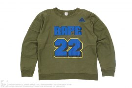 Bape 22 Centurion Crewneck by A Bathing Ape