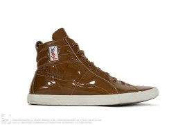mens shoes Patent Leather Hightop by Yves Saint Laurent