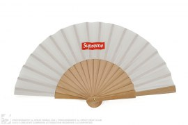 Box Logo Folding Fan by Supreme x Sasquatchfabrix