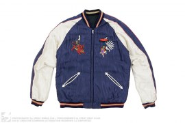 25th Anniversary Japan Exclusive Reversible Suka Souvenir Jacket by X-Large x Tenmyouya Hisashi x Toyo Enterprise