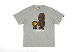 Milo & Chewbaca Tee by A Bathing Ape x Star Wars